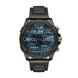 Smartwatch Full Guard DZT2003 Richtungsweisende Technik, cooles Design - dafür steht diese Smartwatch aus der erfolgreichen Full Guard-Serie von DIESEL ON. Modell DZT2003 verfügt über Touchscreen Display, Mikrofon und Lautsprecher und kann beinahe da...