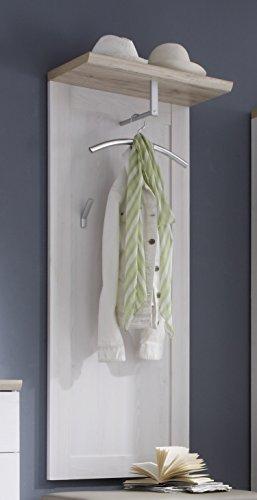 garderoben paneele Stella Trading 31-015-D4 Garderoben-Paneel Romance, Holzdekor, Sibiu-lärche, 59 x 143 x 30 cm