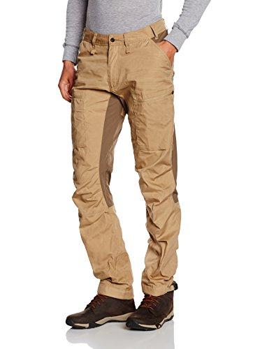 Fjällräven Abisko Pantalon pour homme Lite Trekking Trousers Beige - Marron