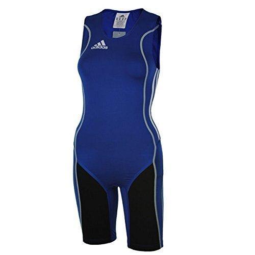 Preisvergleich Produktbild Adidas W8 Lifter Suit ClimaLite Stretch Running Sprintsuit Blau Gr. XXL