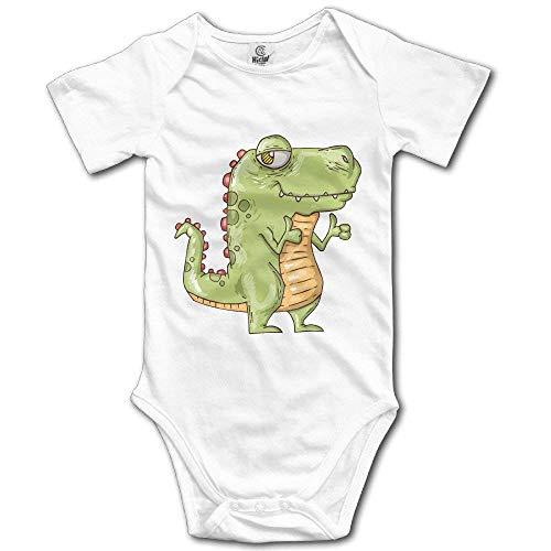 Bodys & Einteiler,Babybekleidung, Baby one-Piece Suit,Baby Jumper,Pajamas, Unisex Baby Unique Crocodile Evil Cool Short-Sleeve Bodysuit 100% Cotton Boys Girls 0-24 Months