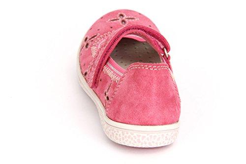 Lurchi Spangenballerina Tiffi, Farbe: pink Pink