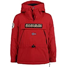 Napapijri Sudadera Kid Skidoo a Old Red 8A, color rojo