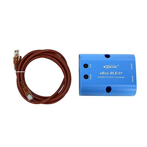 EPEVER eBox-BLE-01 Adaptador RS485 a Bluetooth MPPT Control de Carga Solar  Comunicación Monitoreo inalámbrico Mediante la aplicación de teléfono móvil