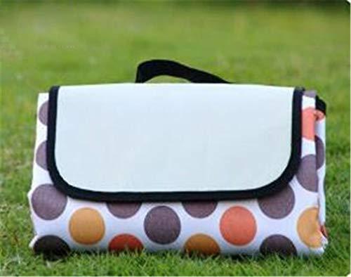 Couverture de pique-nique en plein air, couverture de camping, couverture imperméable à l'arrière 200 x 150 cm en tissu Oxford pour camping, pique-nique, plage