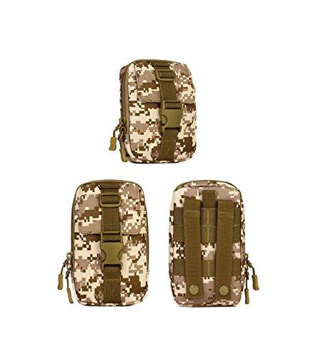 Protector Plus Sporttasche, kleine Unterpaket, 6-Zoll-Taschen Handytasche, Werkzeug Messenger Bag E
