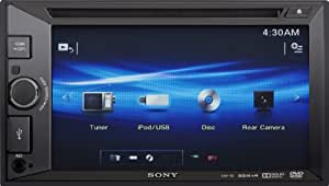 Sony Xav65 Video Receiver With Double Din 6.2-Inch Wvga Touch Screen Display