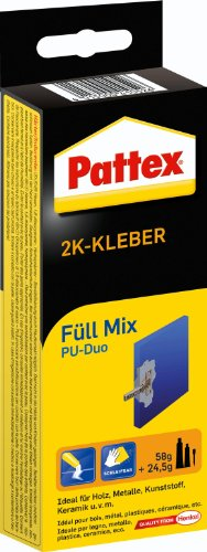 Pattex 1160337 - Colla a due componenti Füll Mix, 83,5 g