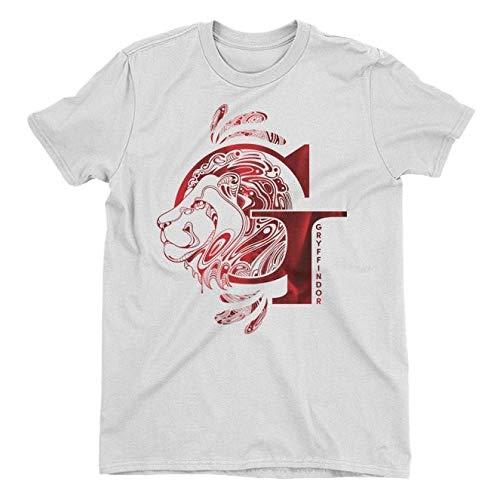 Harry Potter Gryffindor Lion White Ladies T-Shirt XX-Large