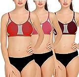c596e6bd35352 ... Lingerie Bikini Panty-Bra Set (Free Size