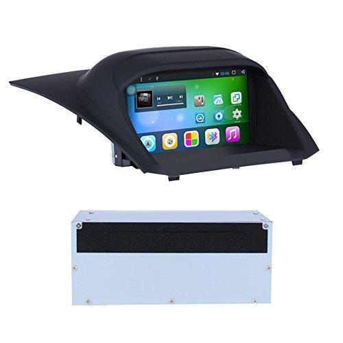 TAFFIO® Android 8 Touchscreen Autoradio Bluetooth WiFi DVD GPS NAVI USB SD 4GB RAM + 32GB ROM für Ford Fiesta