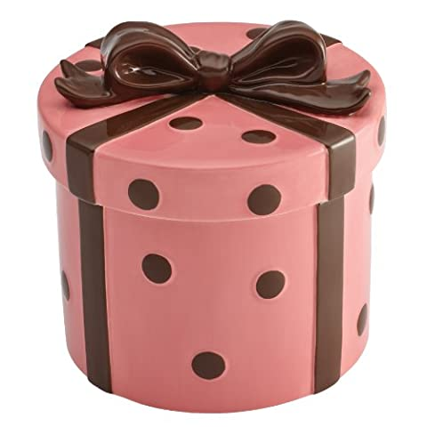 Cake Boss Novelty Hand-Painted Ceramic Cookie Jar - Present style