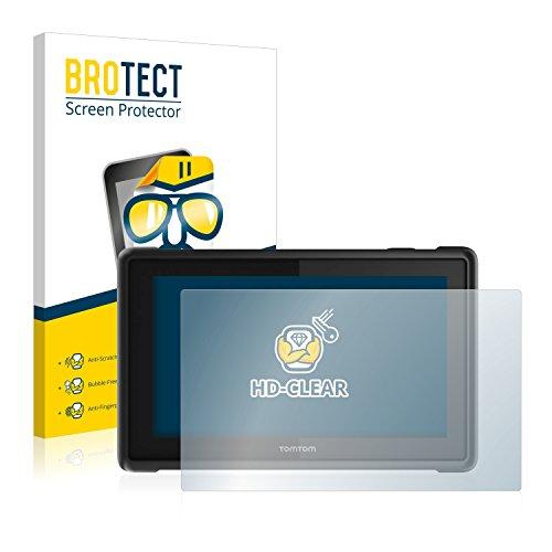BROTECT Schutzfolie für Tomtom Pro 8275 Truck [2er Pack] - klarer Displayschutz