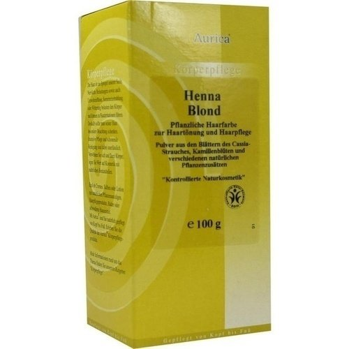 Aurica Henna Blond, 100 g -