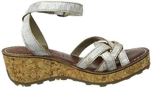 FLY London Damen Geza941fly Wedge Elfenbein (pearl 006)