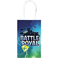 amscam Battle Royal Paper Party Bags With Handles Pack of 8