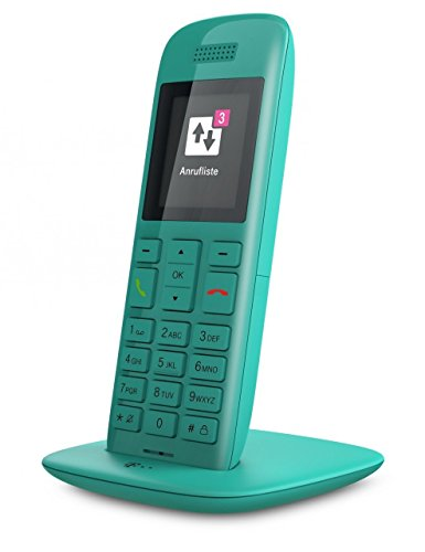 Telekom Speedphone 11 Limited Edition - Teléfono IP (Turquesa, Terminal inalámbrico, 50 m, 300 m, TFT, 176 x 220 Pixeles)