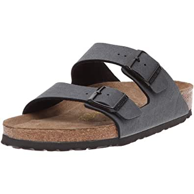 Birkenstock Arizona, Unisex-Adults' Sandals, Grey (BASALT), 44 EU, 10 UK Normal