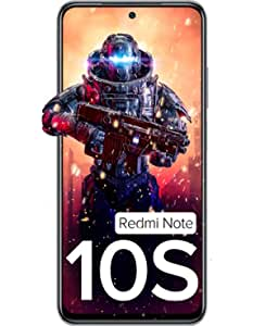 Redmi Note 10S (Frost White, 6GB RAM, 128GB) - Super Amoled Display   64 MP Quad Camera  NCEMI Offer on HDFC Cards   6 Month Free Screen Replacement (Prime only)   Alexa Built in