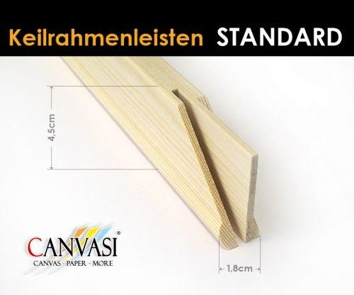 Keilrahmenleisten Standard - FSC zertifiziert Größe 145cm