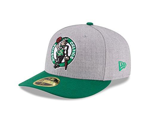 New Era 59Fifty Low Profile Cap - NBA Boston Celtics - 7 5/8 (Cap Hut Nba)