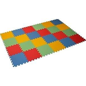 Bodenmatte Puzzlematte UNO (24 Teile) - 16 mm - 0+