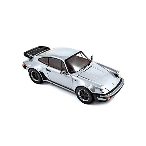 Porsche 911 Modell Turbo (Norev 187574 1:18 silber 1977 Porsche 911 Turbo 3,3 Modell Auto)