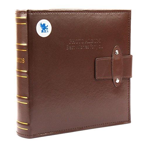hsr-6-x-4-200-photos-large-pu-leather-slip-in-photo-album-brown-vintage-memo-book