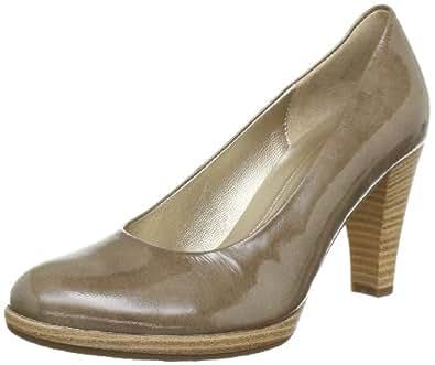 Gabor Shoes 6522094, Damen Pumps, Grau (taupe (sohle natur)), EU 40.5 (UK 7) (US 9.5)