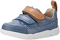 Clarks Baby Boys�?? Tri Aspire Fst Walking Shoes, Blue (Denim Blue Lea), 6.5 UK