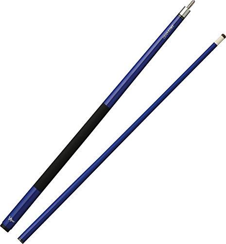 Viper Graphstrike Billardqueue/Poolqueue, 147,8 cm, 2-teilig, Unisex-Erwachsene, blau, 58