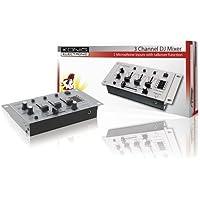 Konig KN-DJMIXER10, Mixer Audio con 3 Canali Stereo