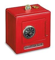Legler 2187 Cassaforte di Metallo, Rossa - Dimensioni: 13 x 13 x 9,5 cm - Peso: 440 g - Materiale: Metallo - Età minima: 36 mesi