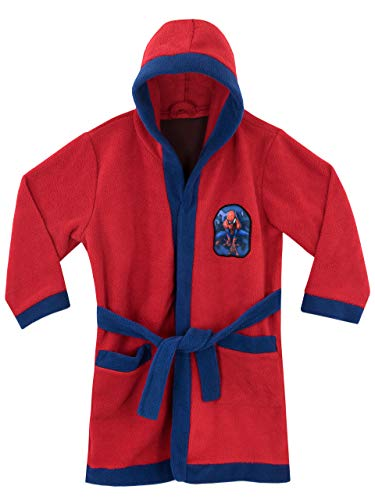 Spiderman Jungen Marvel Spider-Man Bademäntel Rot 128