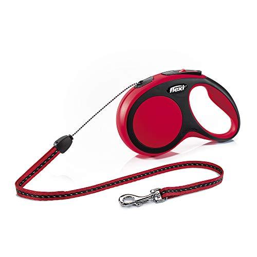 flexi New Comfort S Seil 8 m rot für Hunde bis 12 kg