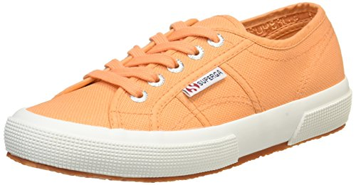 Superga 2750 Cotu Classic s000010, Damen Sneaker Orange (orange clay)