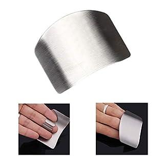 Sellify Taglio Finger strumenti di cottura Accessori Cucina Gadgets in Acciaio inossidabile Della Protezione Della Mano da cucina DITA di Protezione Della Protezione