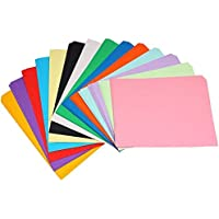 SNOW CRAFTS A4 Size Premium Coloured Paper/Sheets For Art & Craft Projects School Colleges (Pack of 100 Sheets)