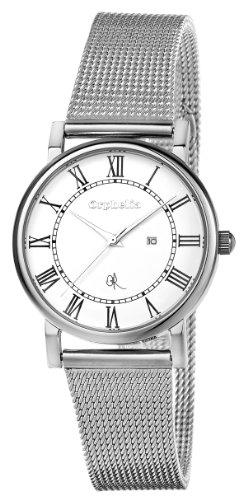 Orphelia - OR53271218 - Montre Femme - Quartz Analogique - Cadran Blanc - Bracelet Acier Argent