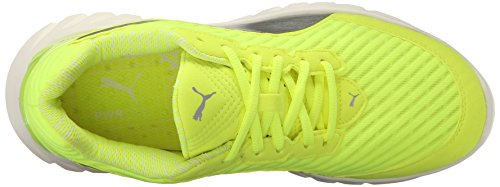 Puma Ignite Ultimate Pwrcool Synthétique Baskets Safety Yellow-Puma Silver