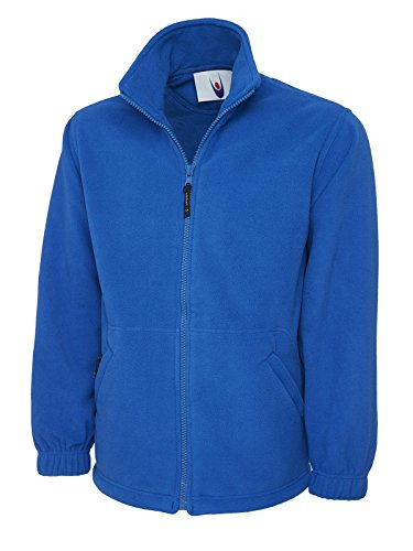 Adults Classic Full Zip Fleece Jacket Royal 4XL