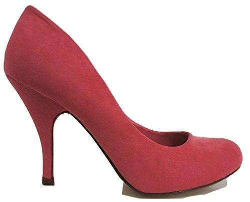 Dorothy Perkins , Damen Pumps Rosa Coral 37.5 (5 UK) (Rot Für Mädchen Dorothy-schuhe)
