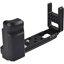 X-T100 - Piastra a sgancio rapido con impugnatura in lega di alluminio per Fujifilm X-T100