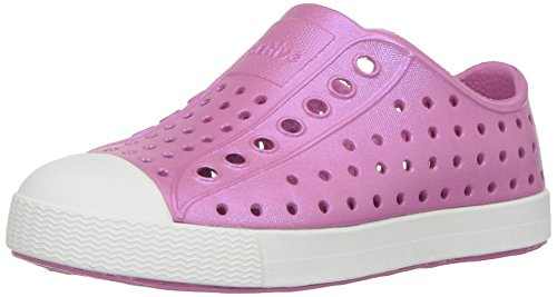 native13100104 - Jefferson schillernd, für Kinder Unisex-Kinder, Pink (Malibu Pink/Shell White/Galaxy Iridescent), 24 EU Medium ()