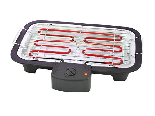Barbecue électrique Tristar BQ-2813 - Modèle de table - Thermostat