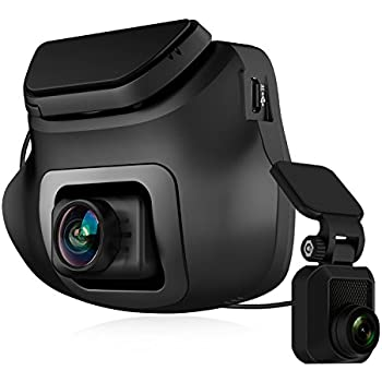 aukey dash cam dual 1080p front and rear in car camera. Black Bedroom Furniture Sets. Home Design Ideas