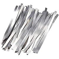 SGerste - 100 tapetes para soldar de níquel puro 99,96% de baja resistencia