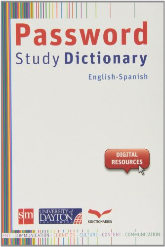 Password Study Dict. Ing/esp (Dictionary / Diccionario)