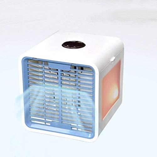 Luftkühler 600M USB Mini Klimaanlage, Luftbefeuchter & Luftreiniger, LED Mobile Klimaanlagen für Büro, Schlafzimmer, Autoreise -