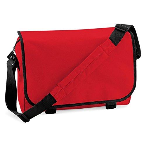 BagBase Messenger bag Klassische rot